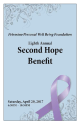 Fundraising Event Booklet